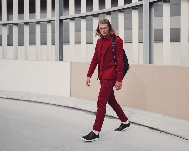 Corduroy red suiting head toe.  - heykarenwoo | ello