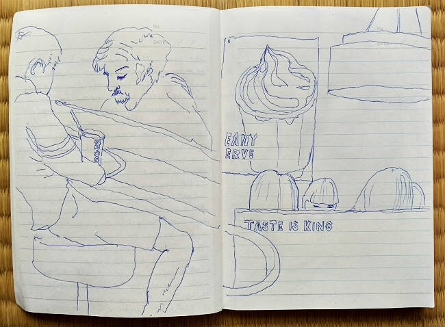 Scenes Tokyo Pen paper, 2017 - abrahampinhas | ello