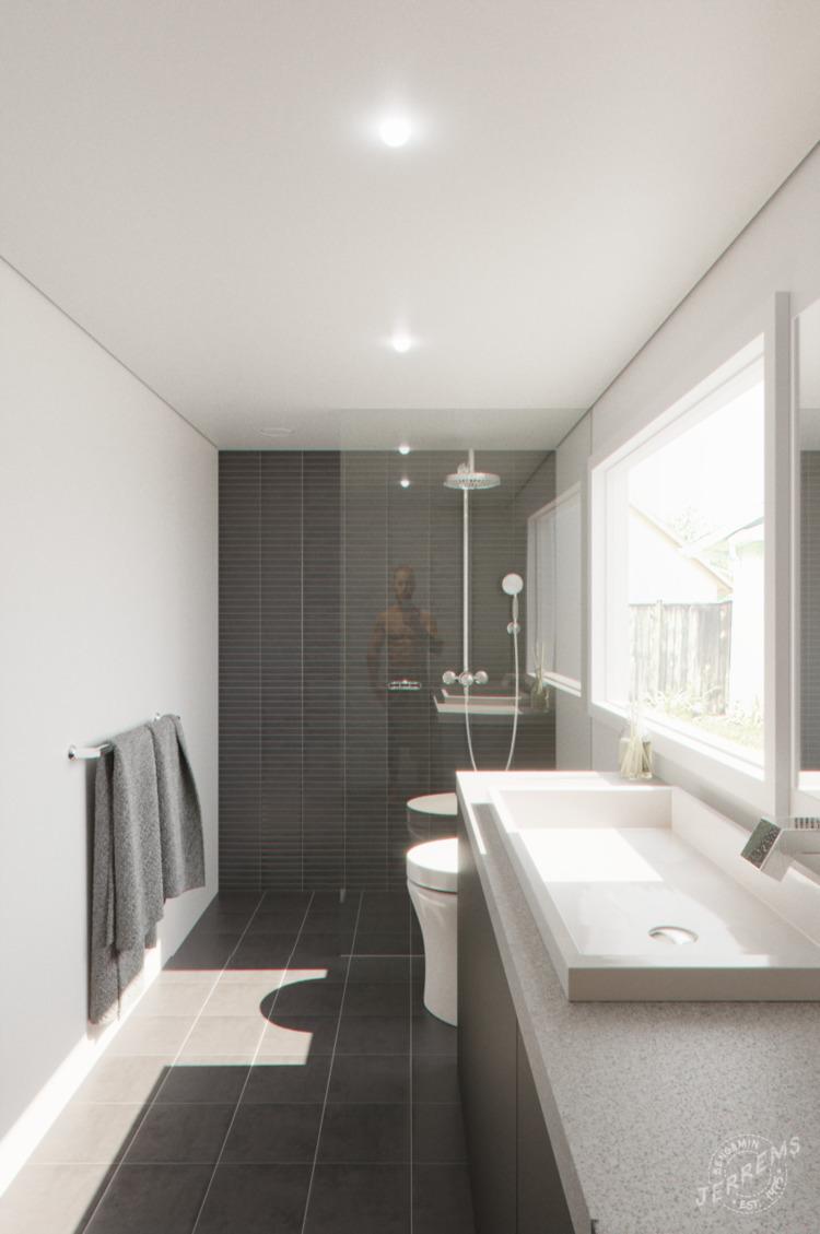 'Bathroom - 3d, coronarender, cinema4d - bengaminjerrems | ello