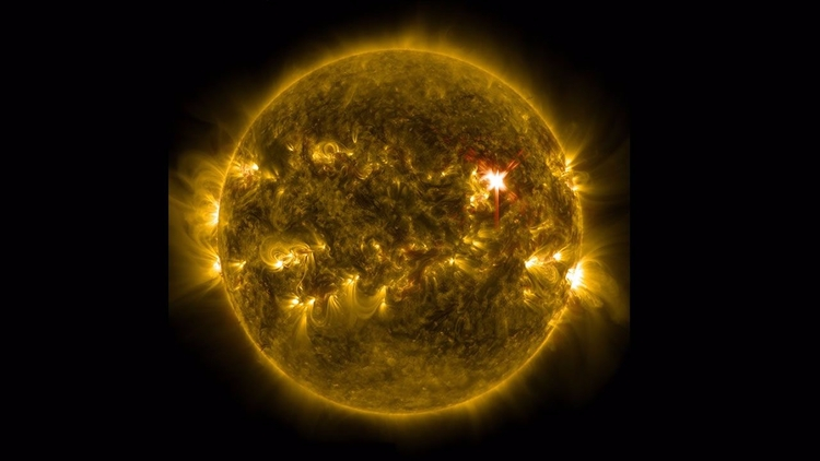 NASA capta potente explosión de - codigooculto   ello