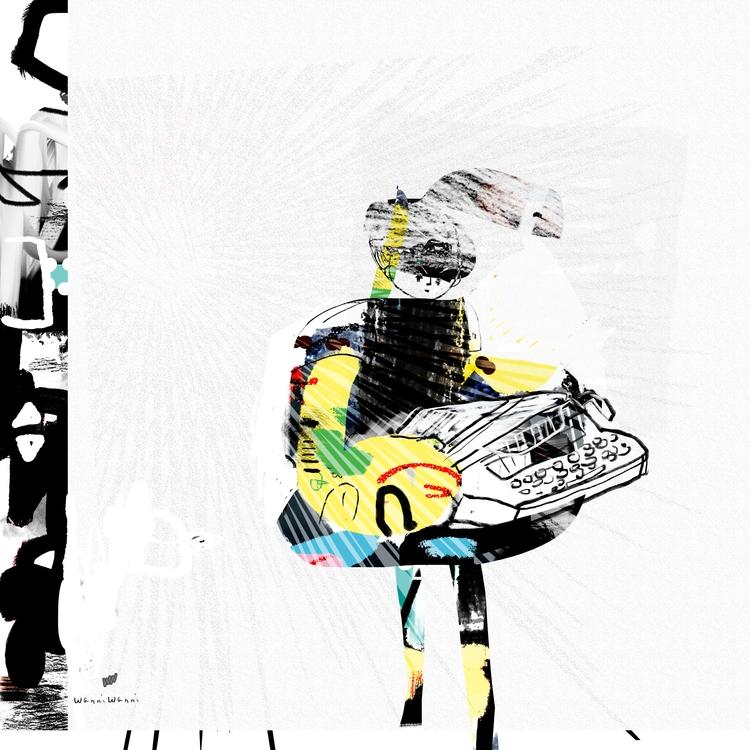 Art making daily practice recap - wanniwanni | ello
