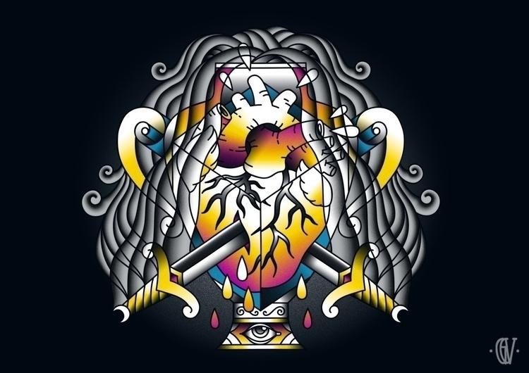 Aquarius - Eleventh Zodiac / 10 - g-c-v   ello