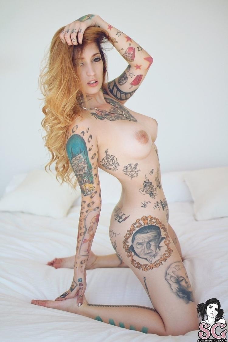 redhead, tits, naked, nude, tattoo - ukimalefu | ello