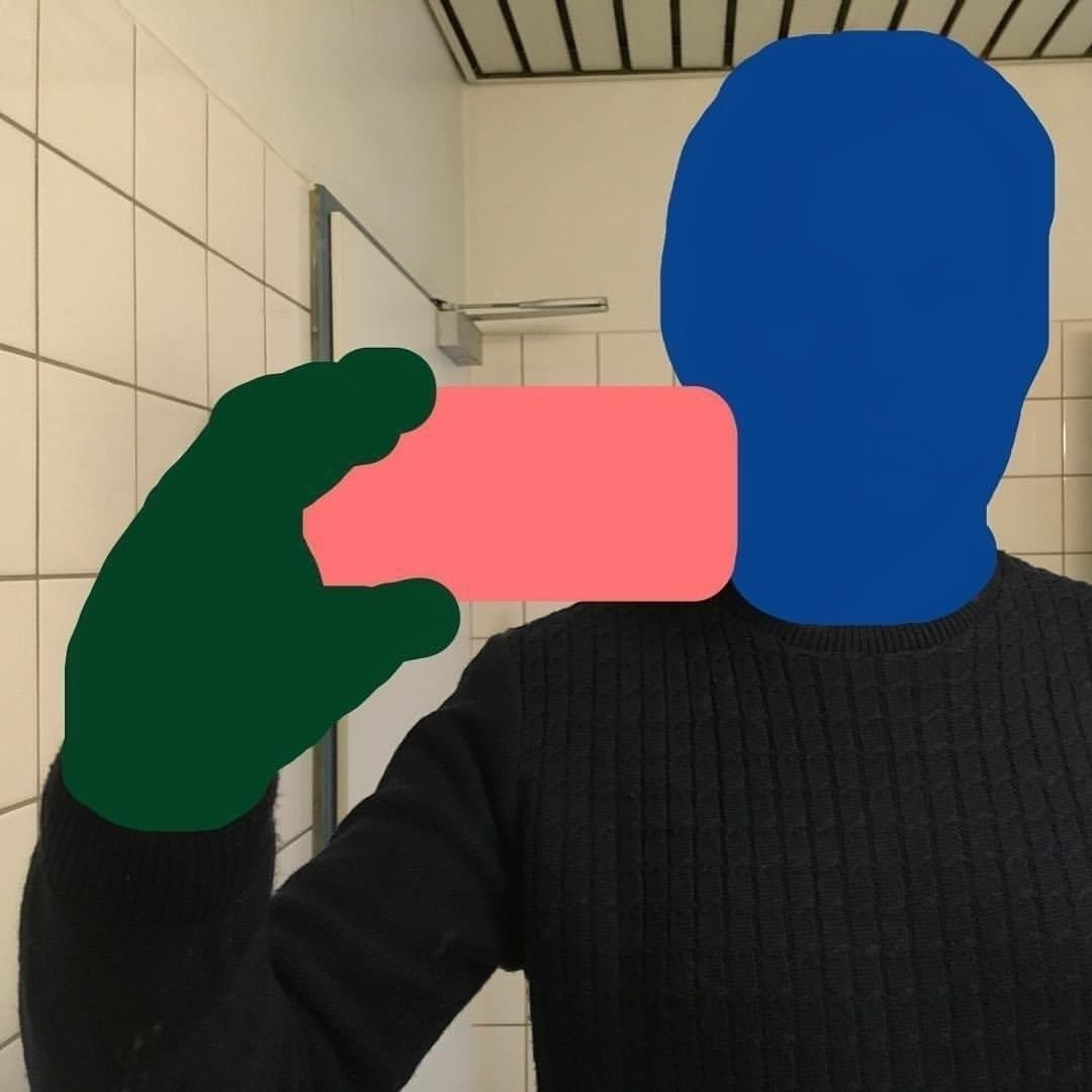 Julien Martin selfie-sock - julienmartin | ello
