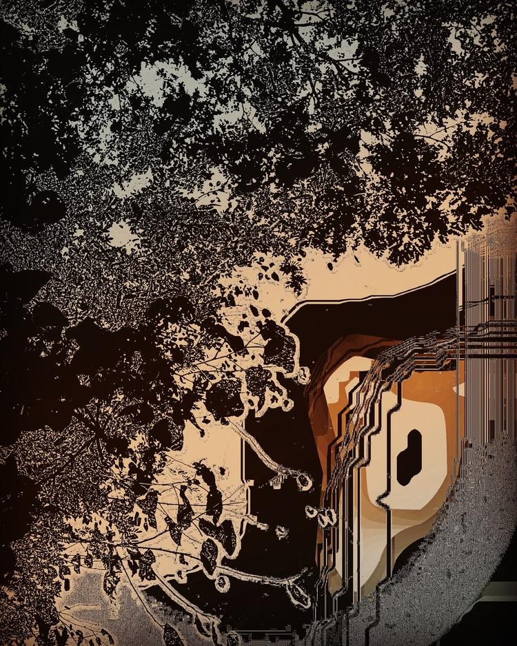 Nara, digital print Lumos, Port - ameliaf | ello