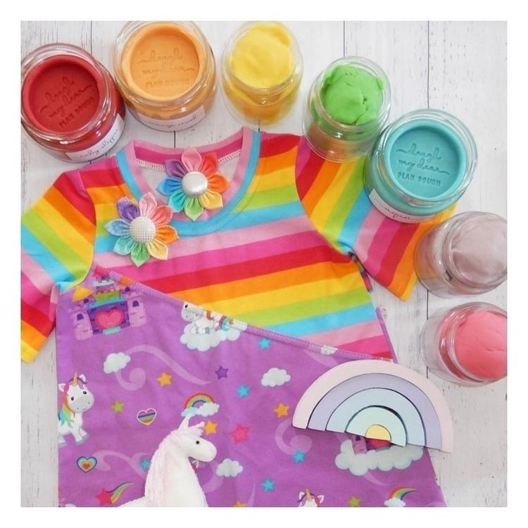 prepare rainbow cloud - ♡ Maya  - blossomandbeekids | ello
