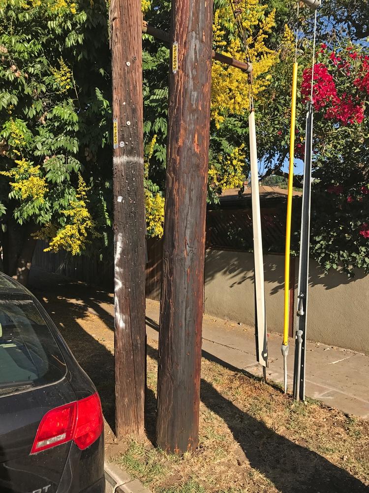 Telephone Poles, Silver Lake Do - odouglas | ello