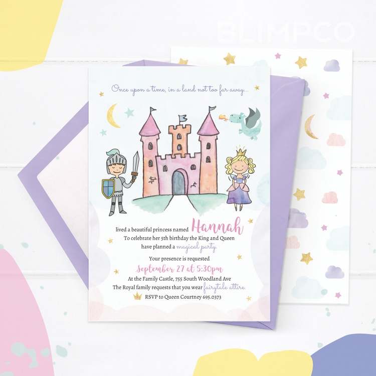 Fairytale Invitations - invitation - blimpco | ello