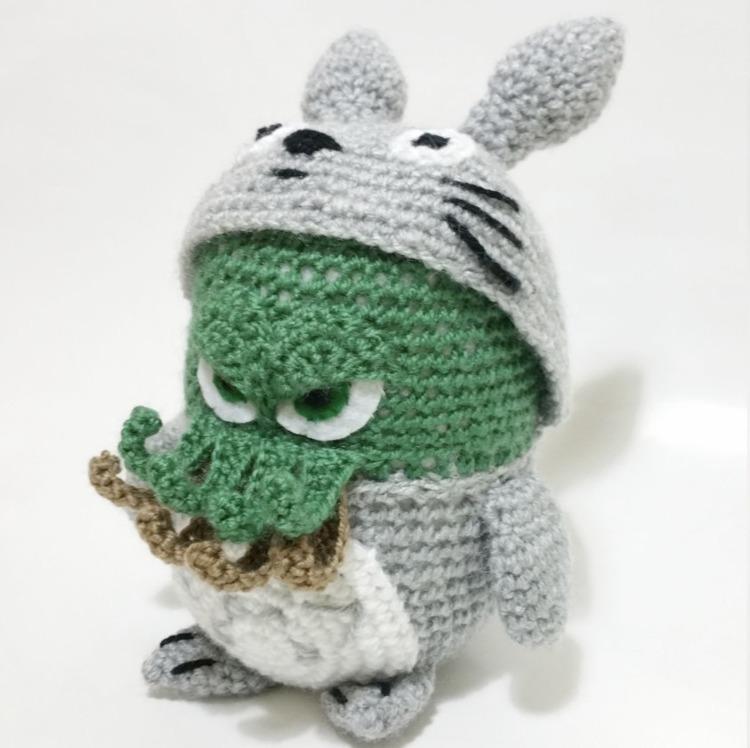 Totoro / Kutuleras - Cthulhu, craft - red_wolf | ello