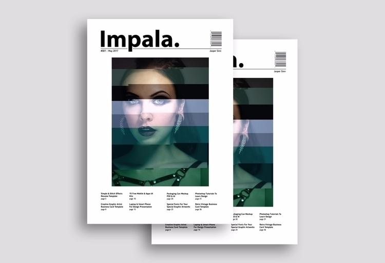 Impala Magazine Concept / Stude - fxsd | ello