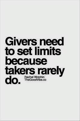 GIVERS SET LIMITS... TAKERS - besomebody - esquirephotography   ello