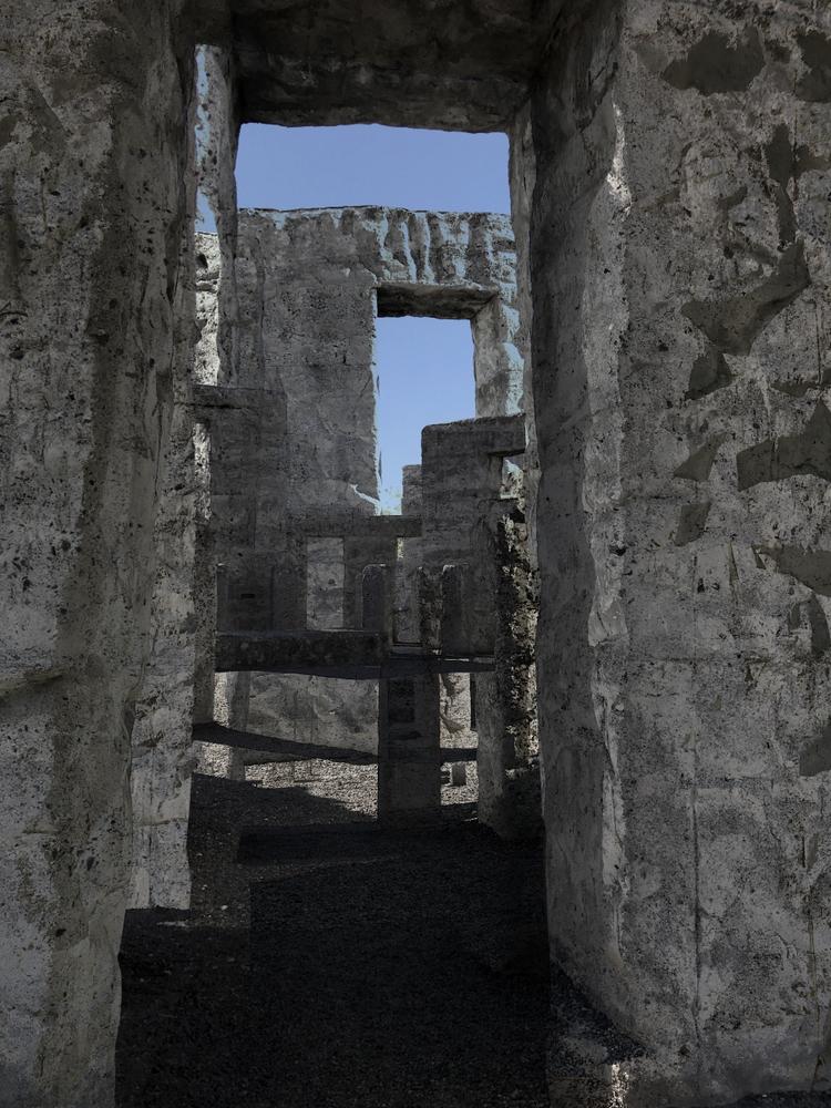 Entering Mystery Stonehenge - jmbowers   ello