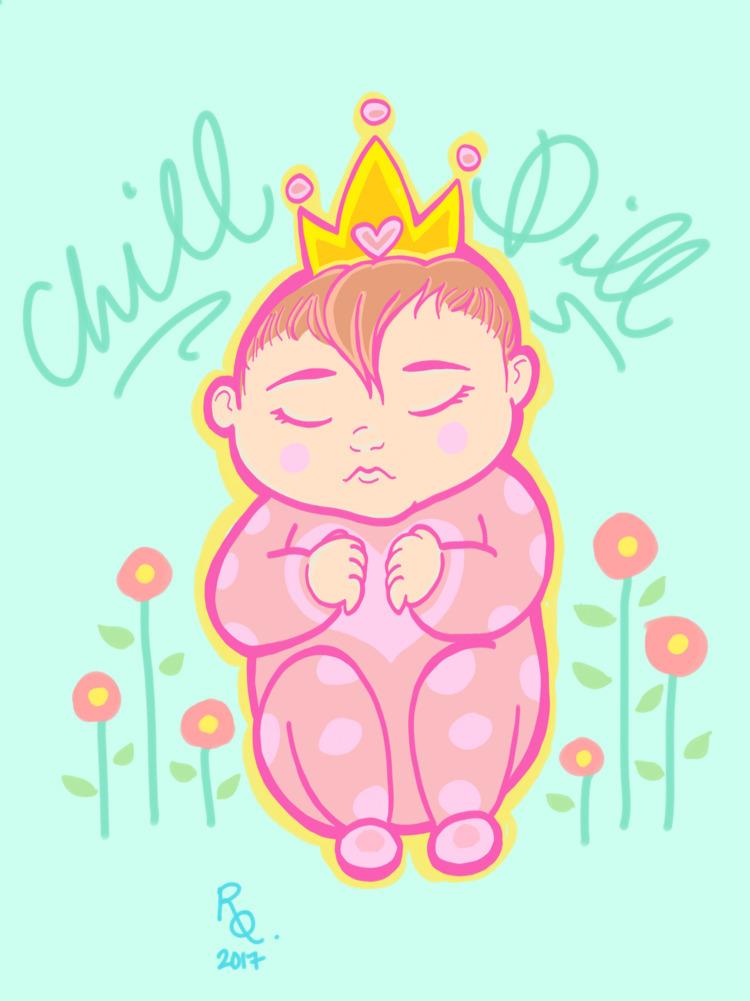Chill Dill (niece) Digital 2017 - arkyoodeetoo | ello