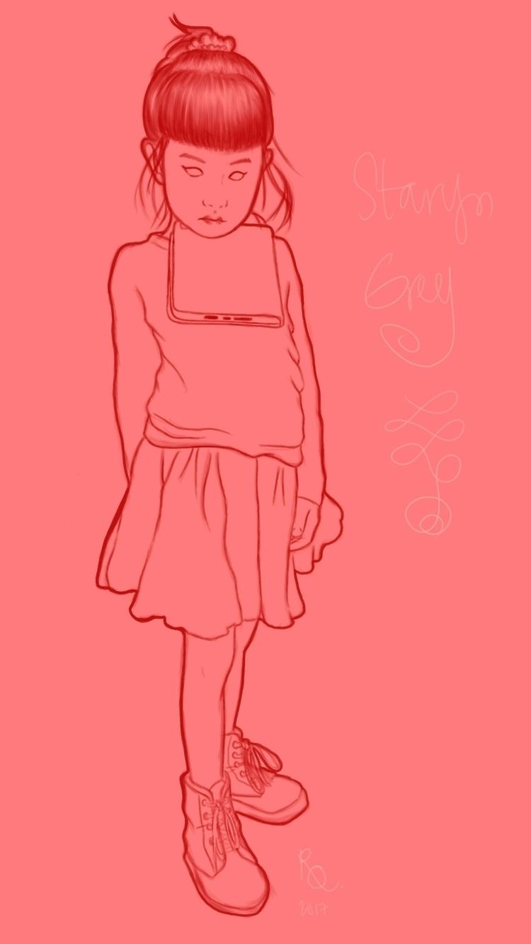 Niece (Staryn Grey) Glorious iP - arkyoodeetoo | ello