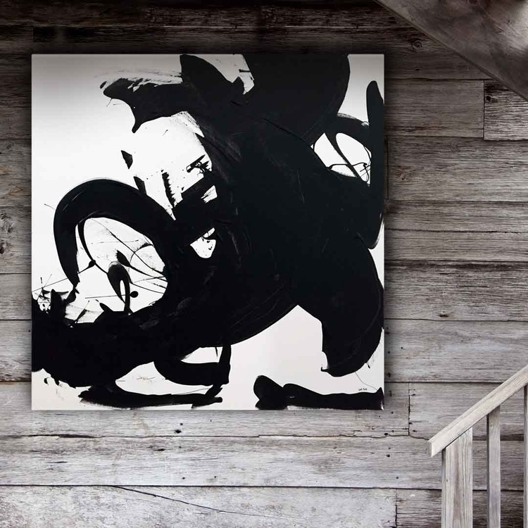 Black White III, acrylic canvas - lynettemelnyk | ello