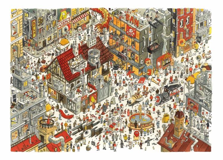 Daniel Spacek, Illustrator plan - danielspacek | ello