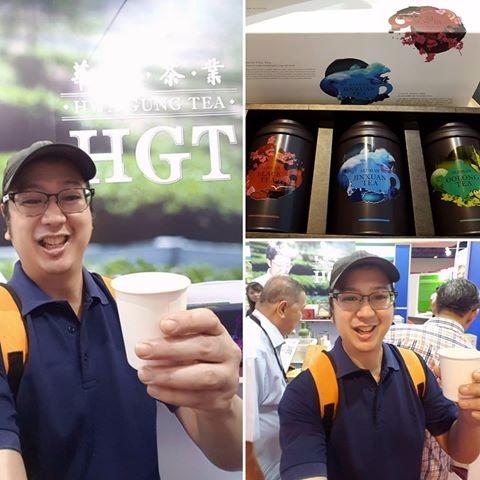 Tasting products - Tea, TaiwanExcellenceExpo - vicsimon | ello