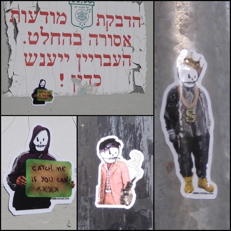 stickers. visit Tel Aviv, Israe - arbel420aka | ello