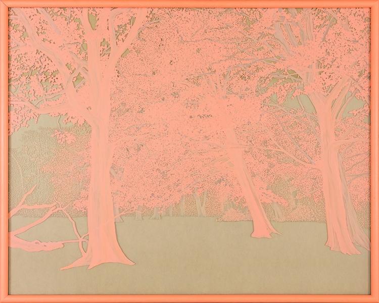Pink 1 Nature Series, Oil Glass - ericschoen   ello