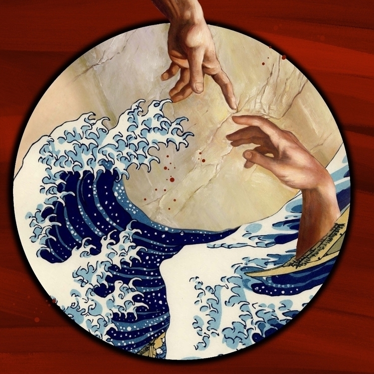 collage - Man Island 🤝:ocean - arbel420aka | ello