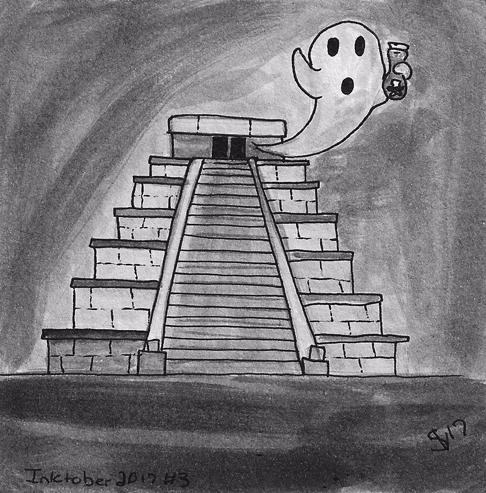 Sketch Daily - Mexico Inktober  - svaeth | ello