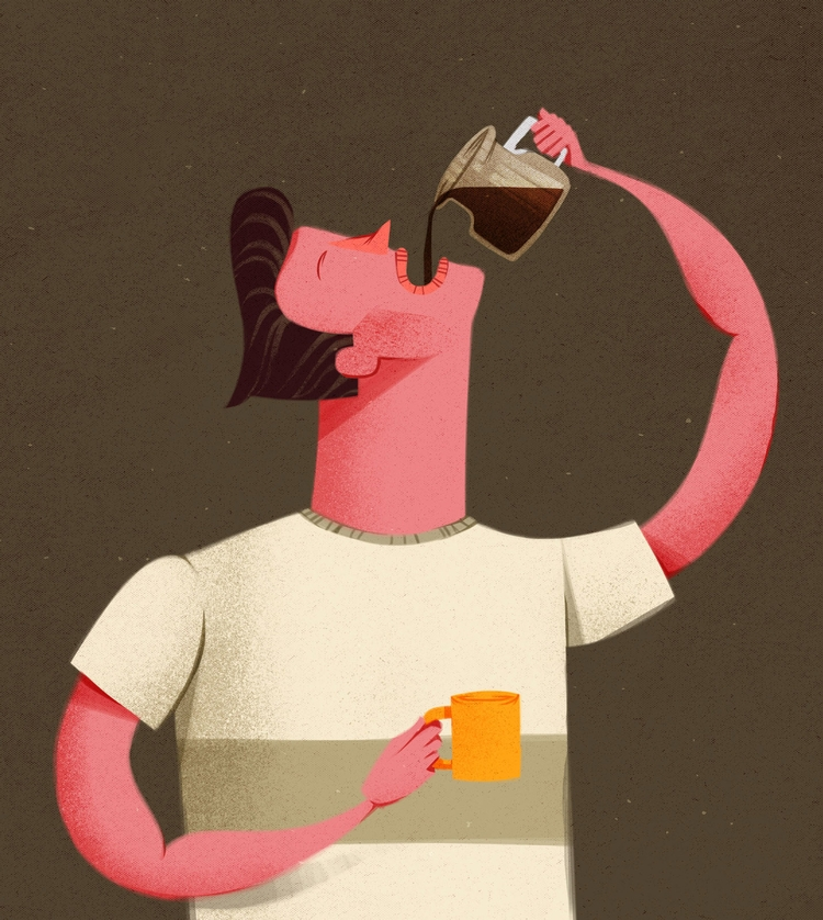 Coffee Drinker - caiobeltrao | ello