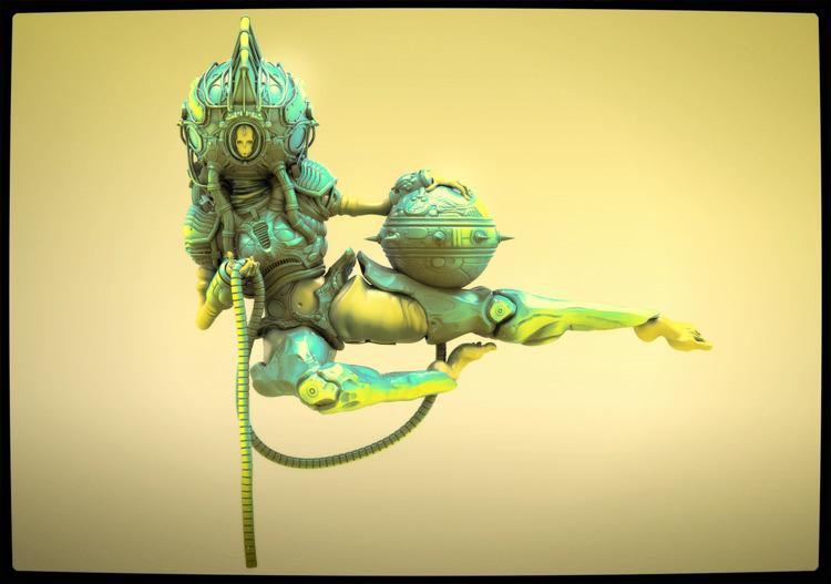 Venus mk 2.5 - art, artist, 3d, 3dart - rothwelljack | ello
