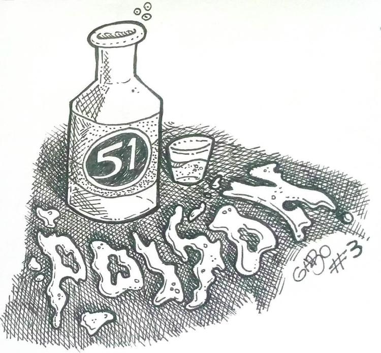 illustration, inktober, poison - gabo_jurgensen | ello