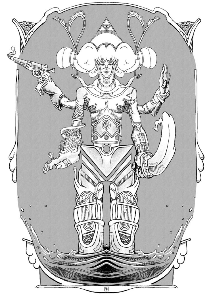 illustration - akenoomokoto | ello