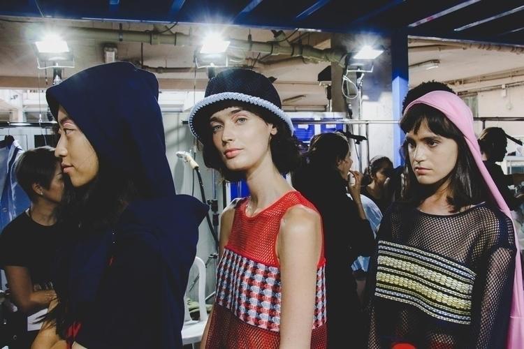 Backstage shots Hong Kong fashi - fashionsnap | ello