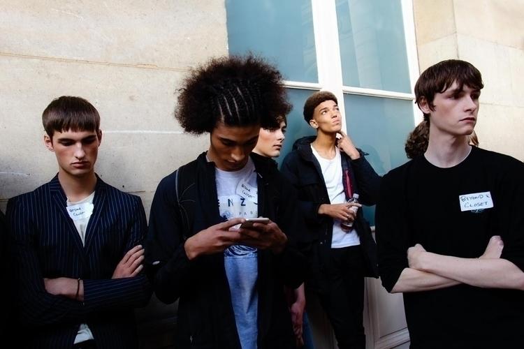 Paris Fashion Week - Backstage  - fashionsnap | ello