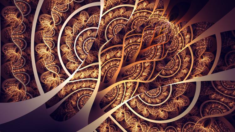 Wheat - Apophysis, Chaotica., fractal - tatasz | ello