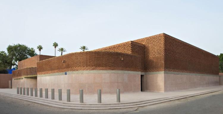 Musée Yves Saint Laurent Marrak - elloarchitecture | ello