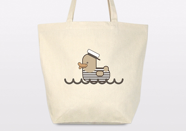 Vintage Sailor Duck tote bag - canvas - grabatdot | ello
