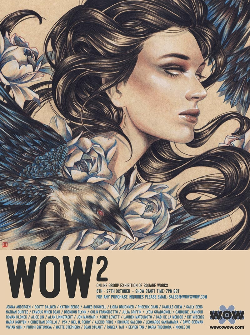 WOW² opens Friday! 30 artists,  - wowxwow | ello