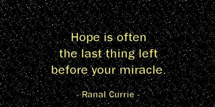 Hope left miracle - besomebody, hope - esquirephotography   ello