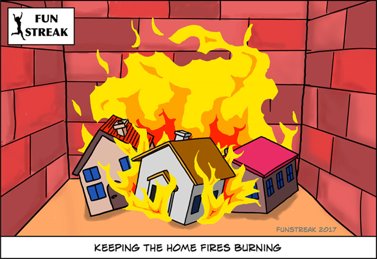 idiom kindle warmth - fire, houses - rickatkinson | ello