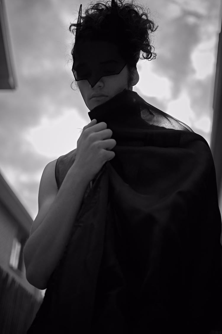 BATBOY mask model Zeke Luna - merewill_ | ello