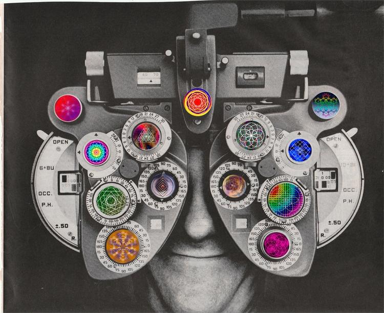 LSD? 2017 Paper collage - surreal - ctrl-alt-delange   ello