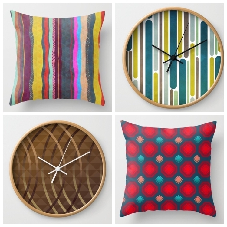 Throw pillows wall clocks sale - trinkl | ello