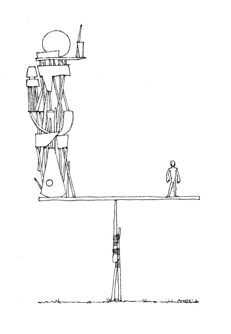 objects weight? isolated piece - ricardo_acosta   ello