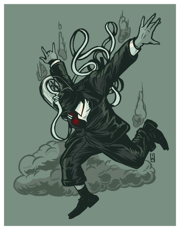 Inevitable Fall - illustration - thomcat23 | ello