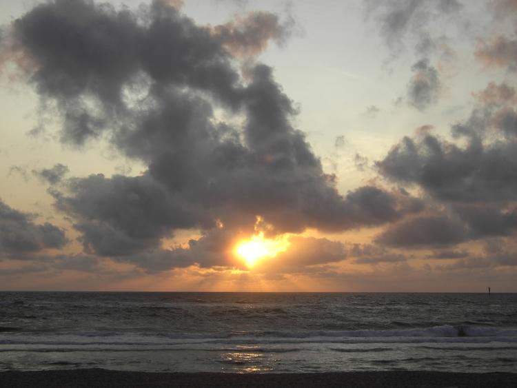 ocean, sea, beach, sun, sunset - derleu | ello