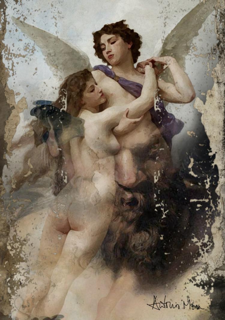 Satyr love - amorartworks | ello