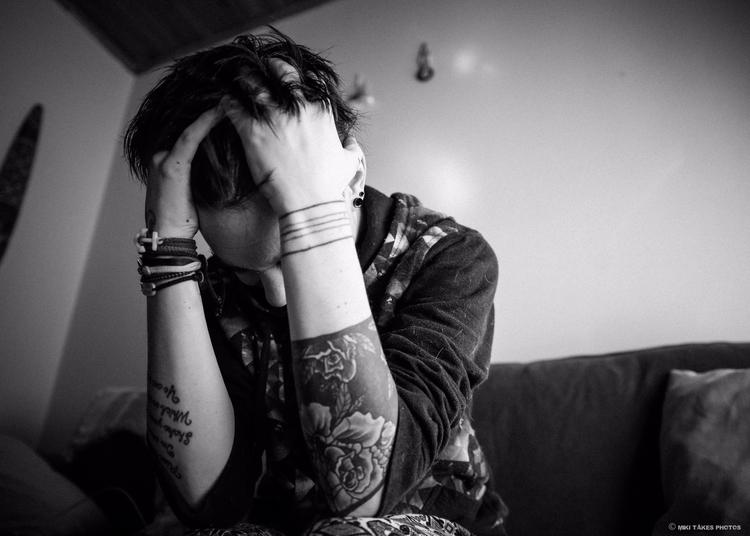 Depicting depression: PTSD + de - mikitakesphotos | ello