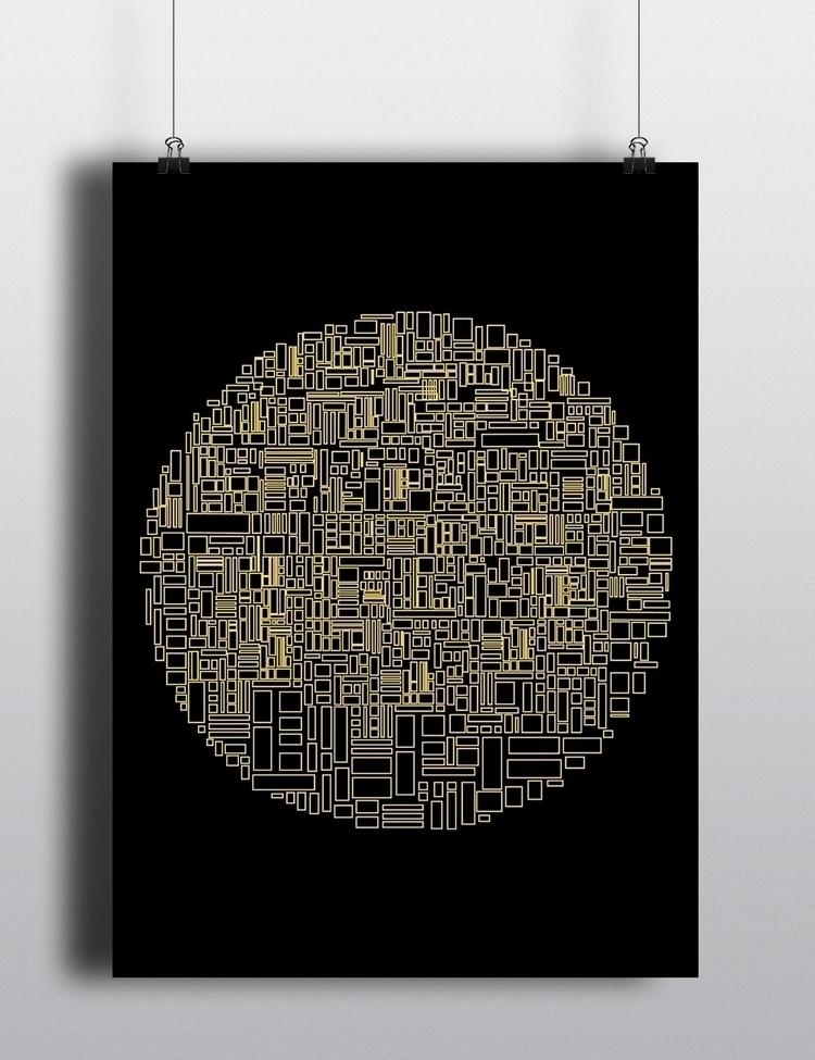 GRID - poster, graphicdesign, design - nastja | ello