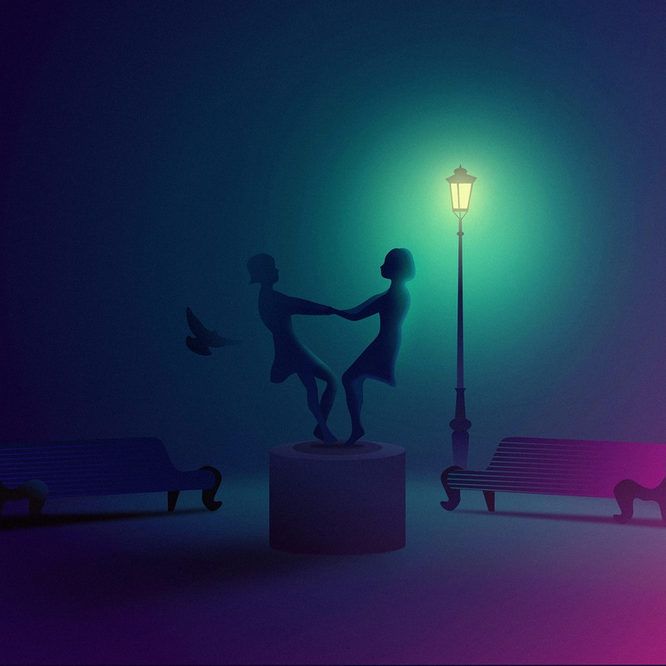 retrofuturism, neon, futuristic - filianstudio | ello