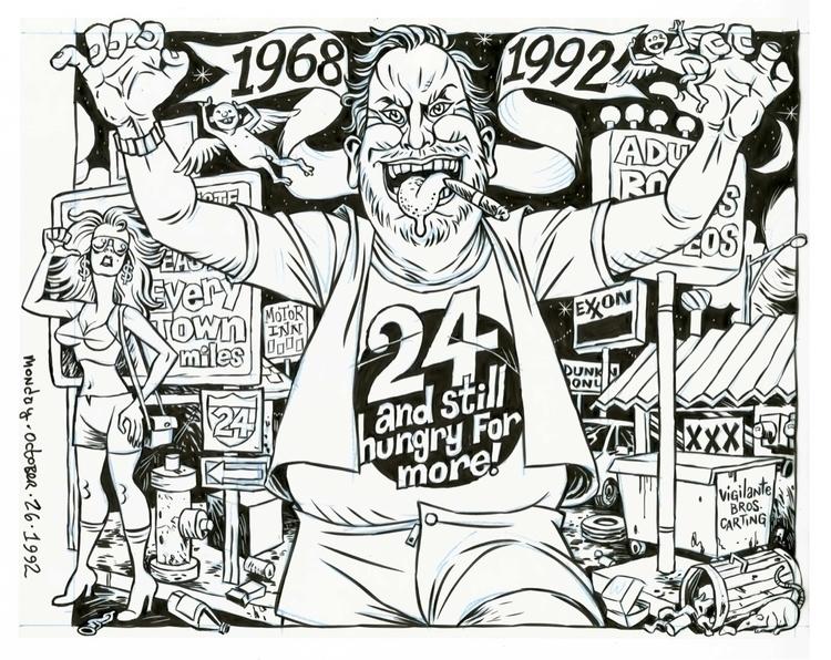 24th Anniversary cover SCREW, 1 - dannyhellman | ello