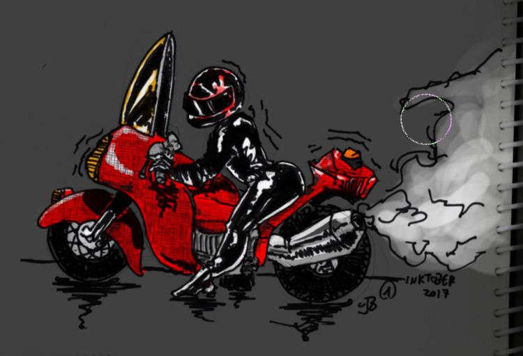 biker, chick, sexy, motorcycle - cjburgos | ello
