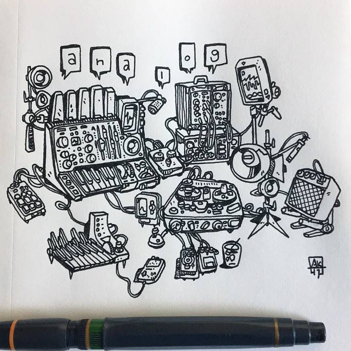 morning ink - inktober - aaronkraten | ello